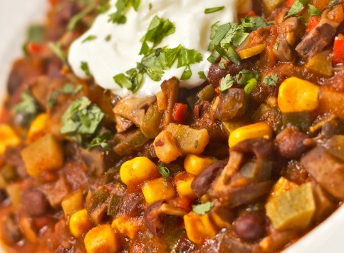 Vegetarian Chili. Photo by Jason R. Johnston